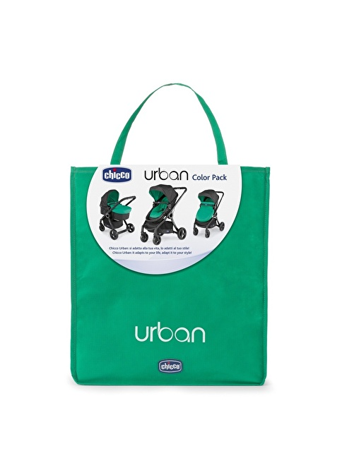 Chicco Colour Pack Urban Stroller Green Wave Renkli